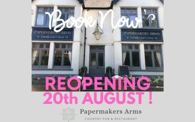 REOPENING 20th AUGUST!!