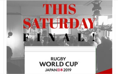 Rugby World Cup FINAL!!