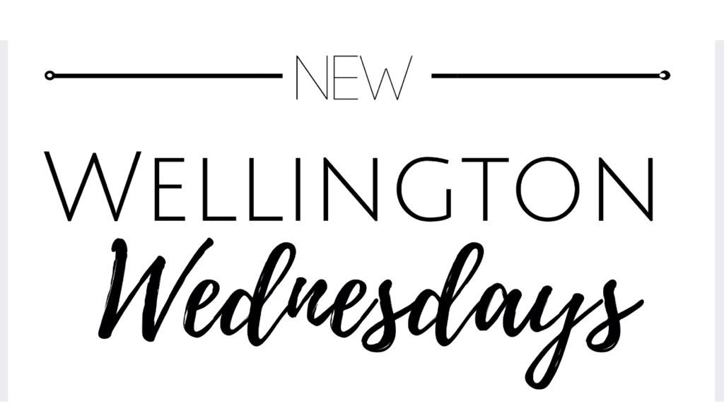 Introducing Wellington Wednesday!