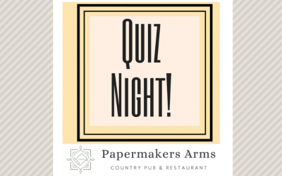 Next Quiz Night – Sunday April 7th