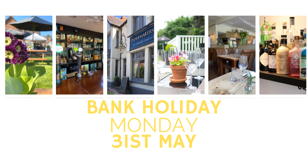 Bank Holiday Monday, 31st May