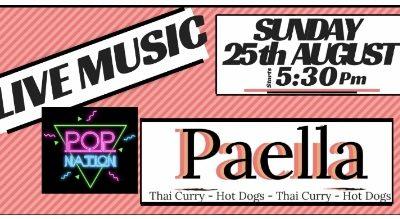 Paella & Live Music!