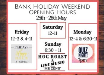 What's on this Bank Holiday Weekend