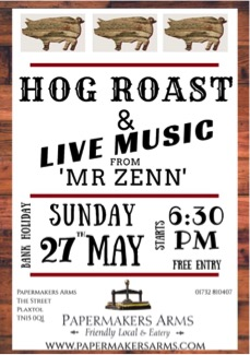 Bank Holiday Hog Roast & Live Music!!
